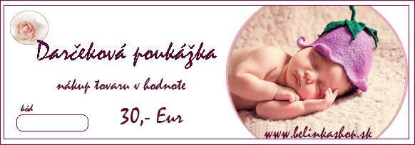 Darčeková poukážka 30Eur - bio kozmetika I Belinkashop e6a49b7f0c8
